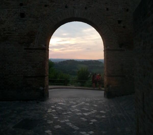 Uscita da castello