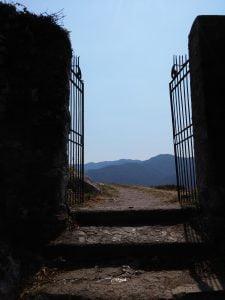 La rocca dell'Innominato, l'ingresso